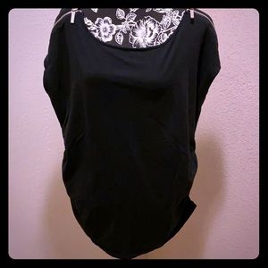 GUC Michael Kors knit top w/zippers